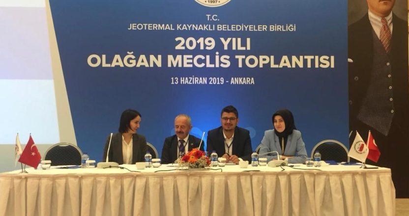 Jeotermal Kaynaklı Belediyeler Birliği Meclis Toplantısı Yapıldı