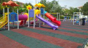 Hilmi İşgüzar Parkına Yeni Çocuk Oyun Grubu Kuruldu.